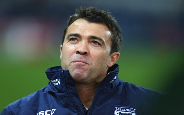 Geelong Cats re-sign AFL premiership-winning coach Chris Scott