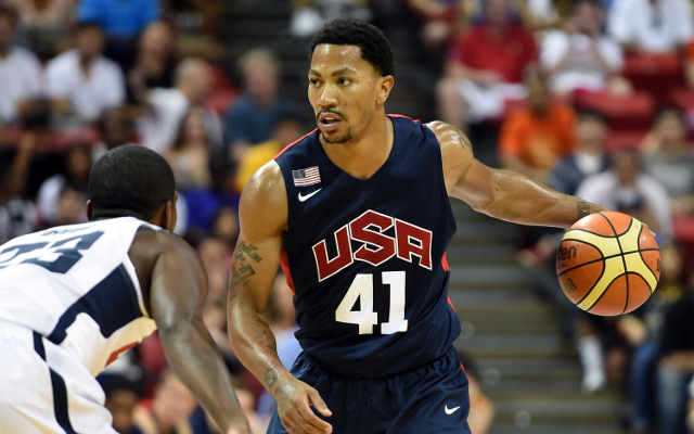 "FIBA World Cup: Team USA Coach wants to see Derrick Rose ""go off"""