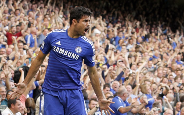 He won't do that every week – Jose Mourinho eases the pressure on Chelsea star Diego Costa