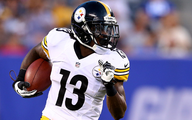 Pittsburgh Steelers running back shows off blazing speed