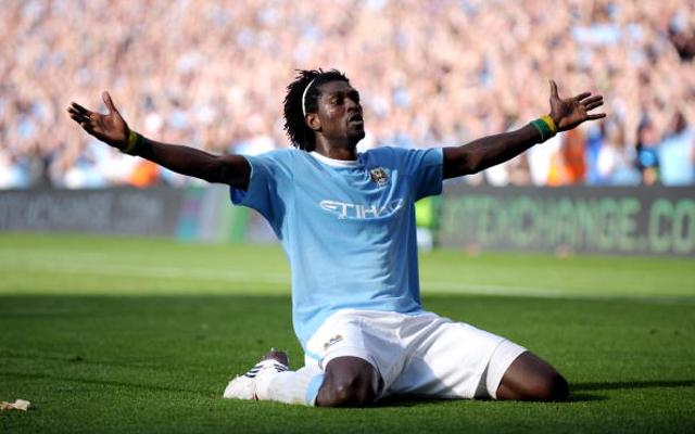 Emmanuel Adebayor Man City Arsenal