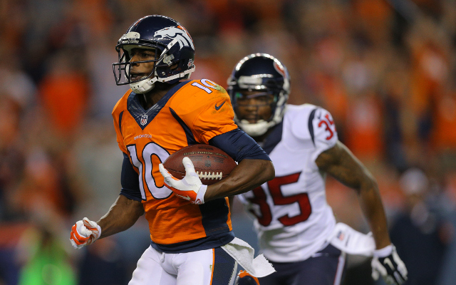 Pro Bowl WR Emmanuel Sanders expects to remain No. 3 WR in Denver