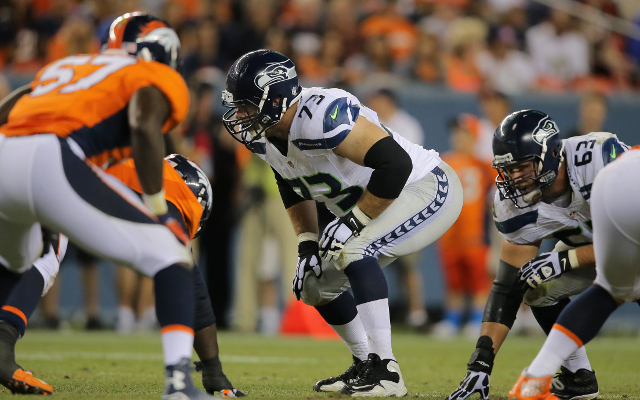 CUT: Seattle Seahawks release offensive tackle Eric Winston