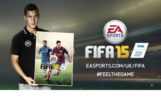 (Image) Chelsea star will feature on FIFA 15 cover with Lionel Messi
