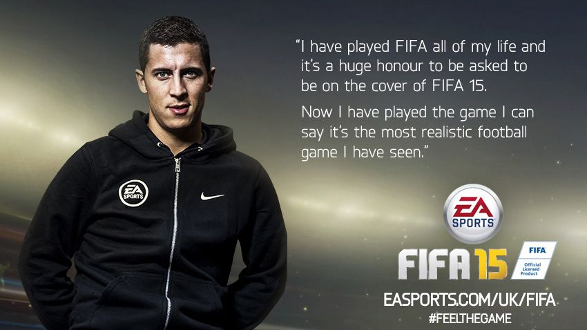 FIFA 15, Eden Hazard