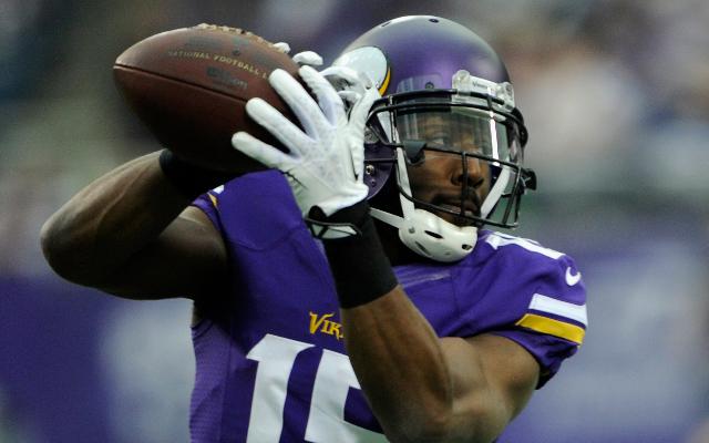Minnesota Vikings receiver gives follower fantasy football advice