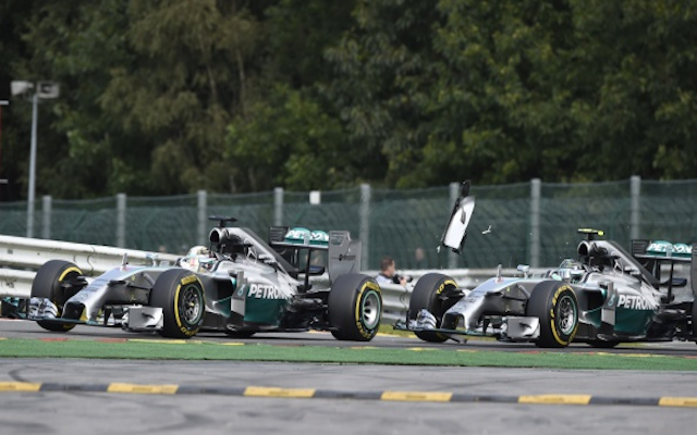 (Video) Nico Rosberg disputes Lewis Hamilton's claims in aftermath of Belgian Grand Prix crash