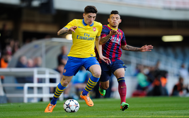 Barcelona v Arsenal - UEFA Youth League Quarter Final
