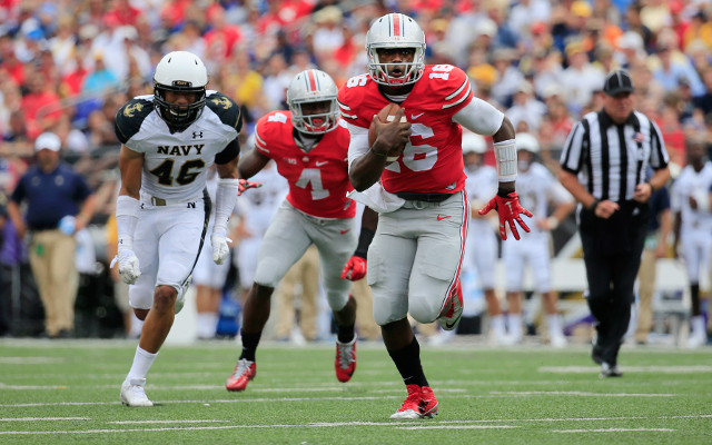 No. 5 Ohio State defeats Navy, 34-17