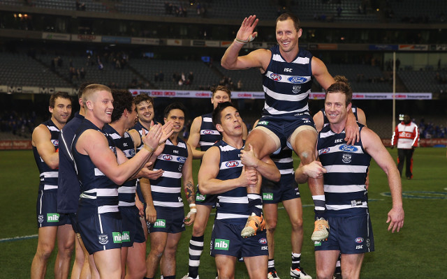 (Video) North Melbourne Kangaroos v Geelong Cats: AFL full match highlights