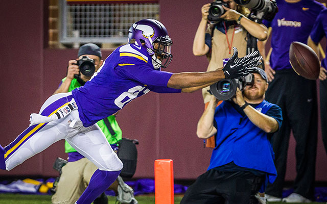 SUSPENSION: Minnesota Vikings WR out 3 games for substance abuse