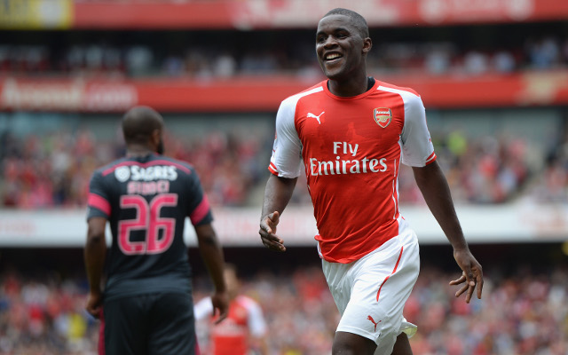 Arsenal striker HAPPY to be linked with move away from Gunners