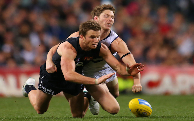Surgery rules out Carlton utility for remainder of AFL season