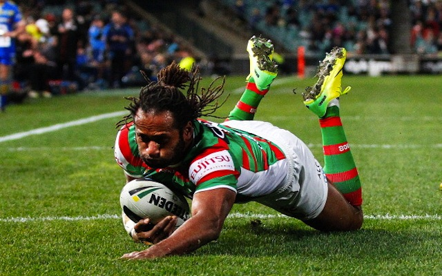 (Image) South Sydney Rabbitohs star Lote Tuqiri undergoes radical change