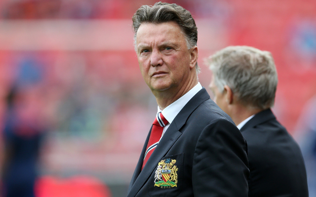Louis van Gaal sends message of warning to Manchester United hierarchy