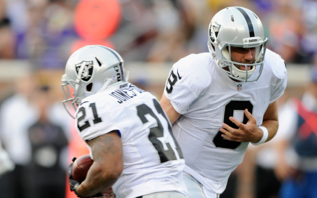 Oakland Raiders release veteran QB Matt Schaub after one season
