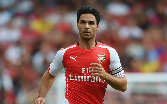 Injury update regarding Arsenal captain Mikel Arteta