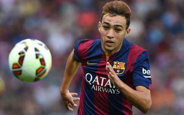 Arsenal to push £9.4m deal though for Barca starlet in January