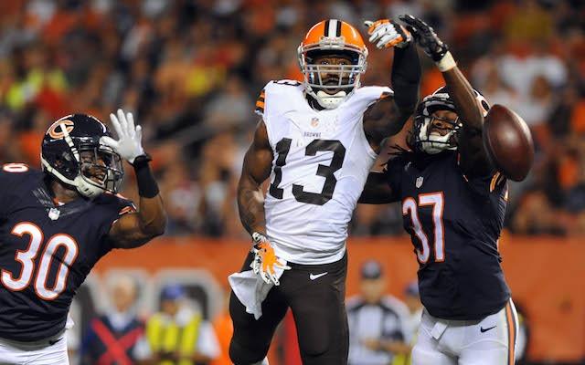 CUT: Cleveland Browns release WR Nate Burleson