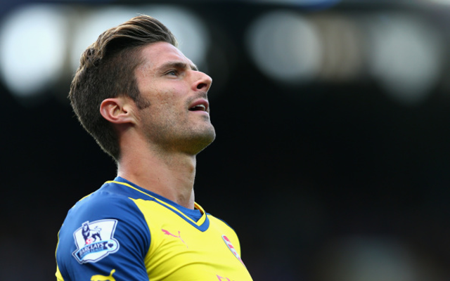 Calamitous mix-up means Arsenal are without Olivier Giroud for Borussia Dortmund clash