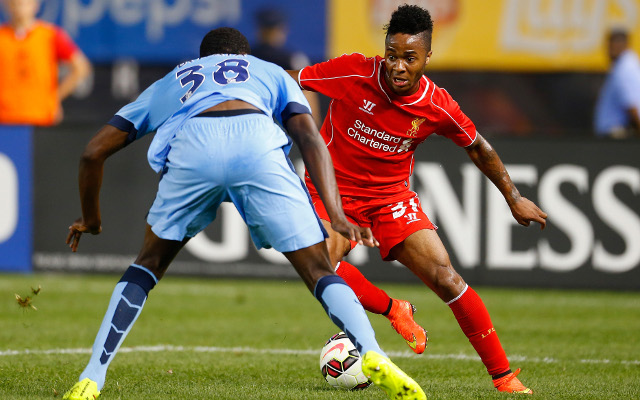Arsenal missed out on signing Liverpool wonderkid Raheem Sterling
