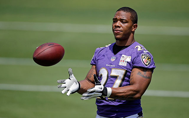 NFL Players Association files appeal for banned RB Ray Rice