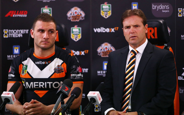 "Wests Tigers coach Mick Potter says he'll ""never stop fighting"""