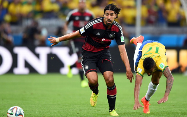 Arsenal set to reopen Khedira talks in January
