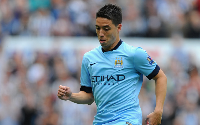 Samir Nasri mocks Chelsea and promises Man City will beat them to the title