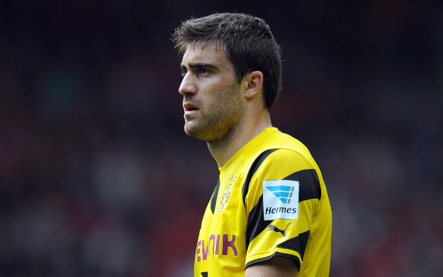 Arsenal haggle with Borussia Dortmund over fee for Sokratis Papastathopoulos