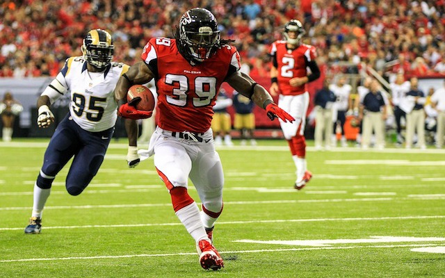 INJURY: Atlanta Falcons RB Steven Jackson likely out Sunday with quad injury