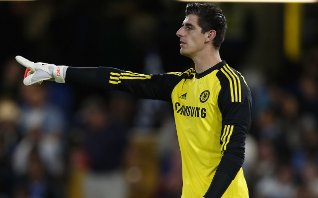 Chelsea shot-stopper Thibaut Courtois dropped over broken finger concerns