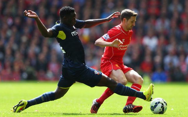 Victor Wanyama Southampton Joe Allen Liverpool
