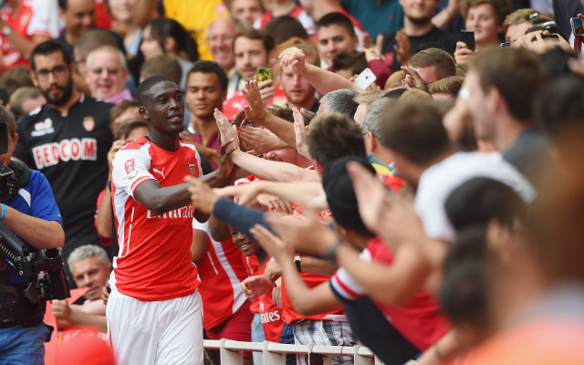 Arsenal's Yaya Sanogo warns Danny Welbeck he will have to fight for his place