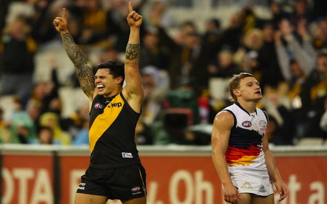 Richmond dump seven players in list revamp for 2015 AFL season, including forward Aaron Edwards