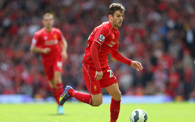 Adam Lallana promises to continue improving his Liverpool form