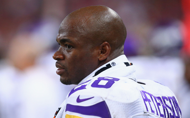 REPORT: Adrian Peterson to have hearing on Monday, will not play until then
