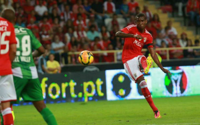 Arsenal and Liverpool scout Benfica's young Brazilian goal machine