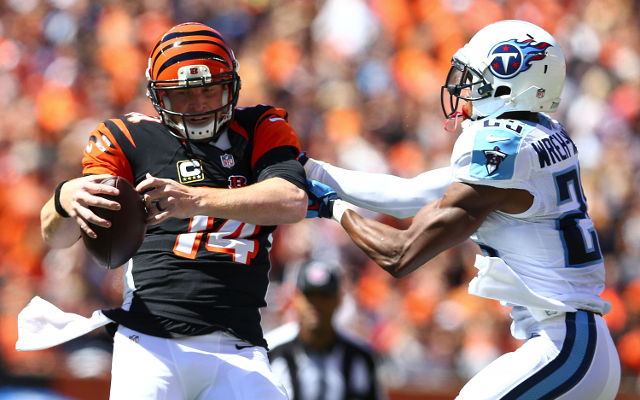 (Video) Bengals QB Andy Dalton catches touchdown pass from wide receiver