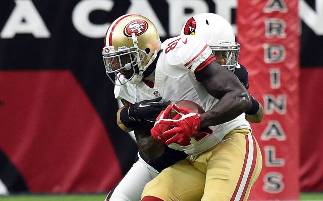 San Francisco 49ers wide receiver blames refs for team's slow start