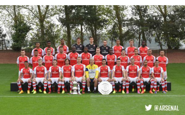 Arsenal team photo