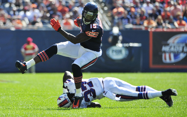 Chicago Bears wide receivers questionable for Week 2