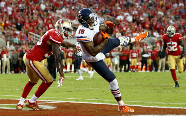 Chicago Bears wide receiver Brandon Marshall questionable for Sunday