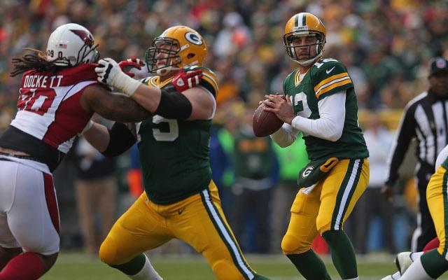 Right tackle Bryan Bulaga inactive for Green Bay Packers
