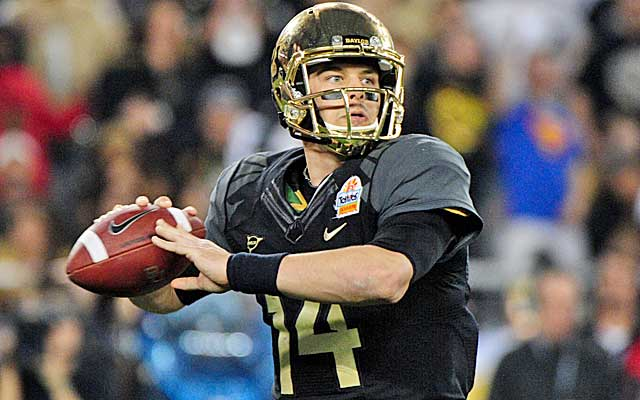 New York Jets trade up to select Baylor QB Bryce Petty in 4th round