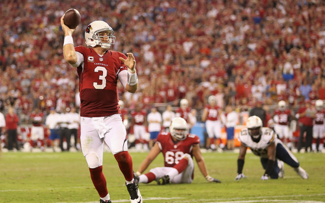 REPORT: Arizona Cardinals to rest QB Palmer, will start backup QB Stanton