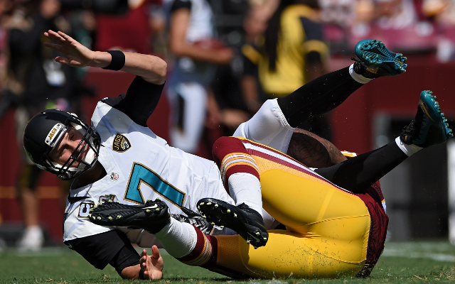Chad Henne to start Week 3 at quarterback for Jacksonville Jaguars