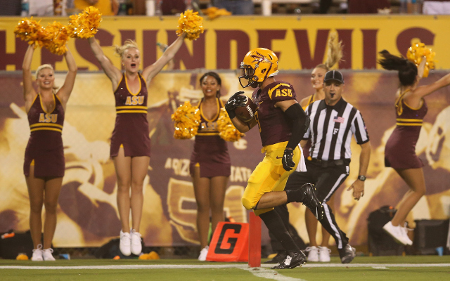(Video) UPSET: Arizona State beats #18 USC on game-ending Hail Mary