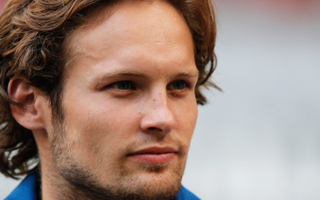 Daley Blind requires treatment after aggressive throw-in smashes Man United star in the face (video)