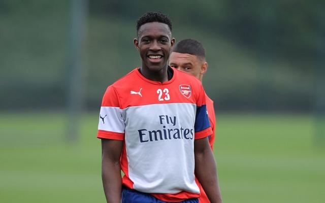 Danny Welbeck Arsenal training2